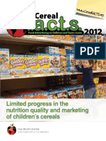Cereal FACTS Report 2012 7.12