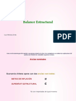 Balance Estructural