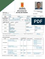 SMC Application Form
