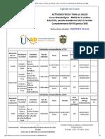 Agenda - Actividad Fisica y Para La Salud - 2017 II Período Complementario 08-05 (Peraca 364)