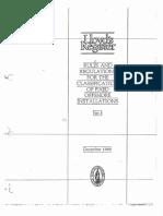 Lloyds classification of fixed platform