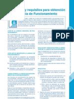 Como obtener una licencia municipal de funcionamiento en Perú