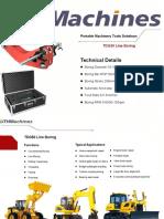 Tdg50 Portable Line Boring Machine-dthmachines