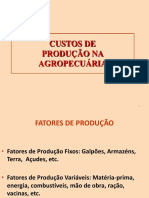 Custos de Produção