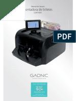 Gadnic-contadora de Billetes