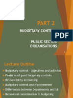 Part 2 - MA - Budgetary Control