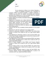Resolución N° 6 2017-2/JF-F