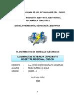 160511593 Informe Tecnico Hospital Regional Cusco