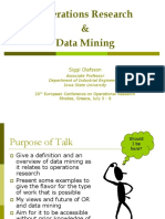 Data piling