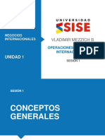 Operaciones Financieras Internacionales CLASE 1