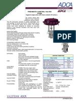 Valvula de Control Sanitaria Para Vapor Limpio y Puro Dn15 100 Pv928