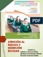 Prioridad Educativa.rezago y Deserción