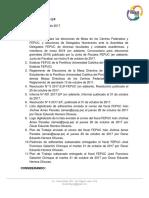 Resolución N° 8 2017-2/JF-F
