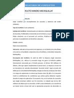 CONFLICTO MINERO MICHIQUILLAY
