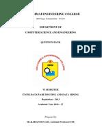 IT6702-Data Warehousing and Data Mining