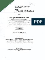 07 Genealogia Paulistana Tomo VII - Luiz Gonzaga da Silva Leme (1904)