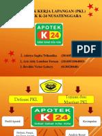 Materi Presentasi PKL Apotek K-24 Paleng Bae