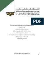 (EDC 2202 - Psycho Sociolinguistic Perspectives in ELT) Nature Versus Nurture in Language Learning