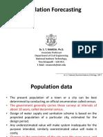 5.Population Forecasting