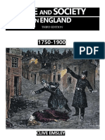 Clive Emsley Crime and Society in England, 1750-1900 3rd Edition - Capítulo 3