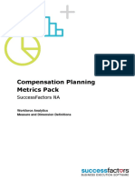 Compensation Planning Metrics Pack NA