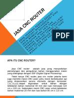 Beberapa Jasa CNC Router Yang Bisa Anda Ketahui