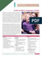 Clase5-Etapas de Desarrollo Auditivo, Lenguaje y Habla