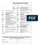 CTPAT 7-Point Container Seal Inspection Checklist