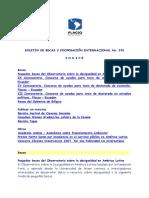 Boletin de Becas y Cooperación Internacional 076