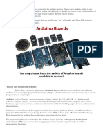All About Arduino Boards