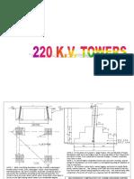 Foundation Details for 220 Kv- A Type