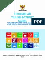Buku Terjemahan Baku Tujuan Dan Target Global TPB
