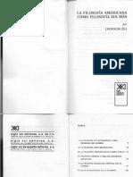 Leopoldo Zea - La filosofía americana como filosofía sin más  -Siglo.pdf