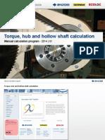 Ringfeder Calculation Manual CP TT H HS En