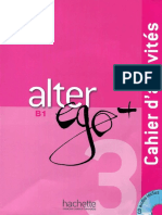 Alter Ego 3 Cahier d'Activite
