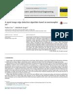 A novel image edge detection algorithm based on neutrosophic set