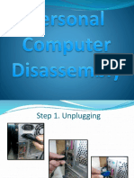 Computer Disassembly Assembly