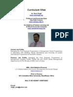 Curriculum Vitae Rana Singh
