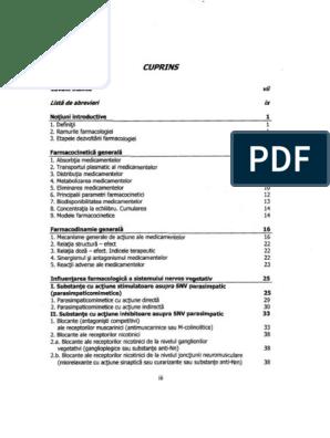farmacologie pentru restaurare articulară