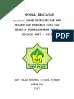 Proposal LDK Dan Pelantikan OSIS