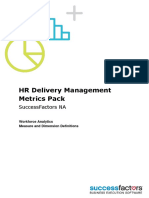 HR Delivery Metrics Pack NA