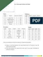 Trabalho Modelagem de Dados