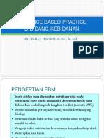 Evidence Based Practice Dibidang Kebidanan
