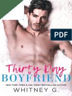 Thirty Day Boyfriend - Whitney G