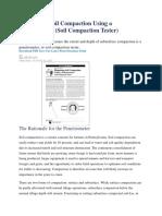 Diagnosing Soil Compaction Using a Penetrometer