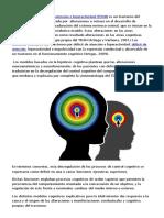 Modelos Cognitivos Explicativos Para El TDAH