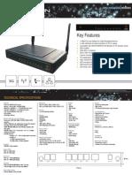 3G Router Datasheet