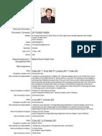 Europass Cv,Dr Touseef Ansar 23.Doc 786