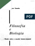 Filosofia e Biologia