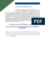 Fisco e Diritto - Corte Di Cassazione n 4297 2010